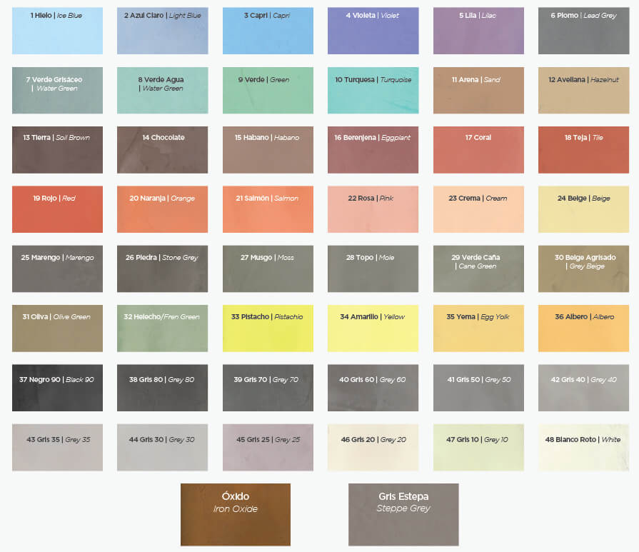 Microcemento para pisos paredes y fachadas mibuti - Colores de microcemento ...