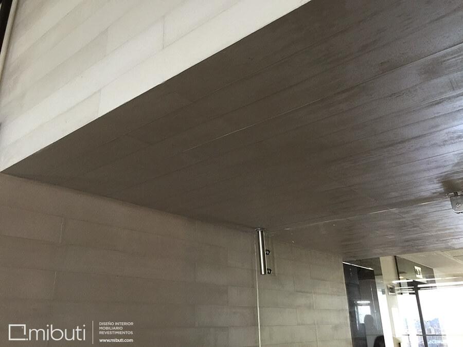Mejia asociados microcemento oficinas tipo tablilla mibuti - Microcemento para paredes ...