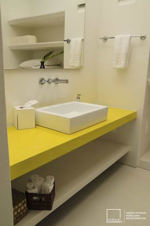 casa-yeguas-meson-amarillo-lavamanos-rezzin | Mibuti – MicroCemento ...