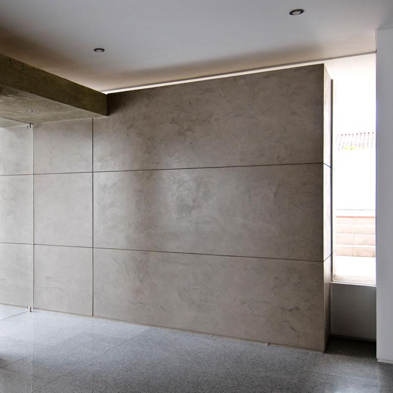 Paredes 01 mibuti microcemento revestimientos dise o - Aplicacion de microcemento en paredes ...